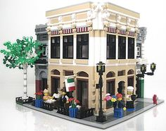 Really nice custom modular building.
