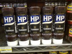 HP Sauce & Guinness in Jungle Jim's in Cincinnati