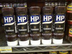 HP Sauce & Guinness in Jungle Jim's in Cincinnati