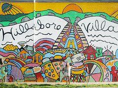 A weekend in Hillsboro Village, Nashville Paper Planes, Activity Board, Nashville, Tennessee, Oregon, Street Art, The Neighbourhood, Paradise, Pride