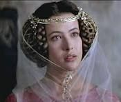 """Medieval hair from the movie """"Brave Heart"""" ; (Princess Isabella of France played by Sophie Marceau.)"""