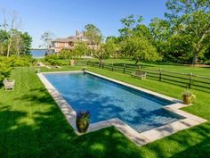 swimming pools with lots of grass - Google Search