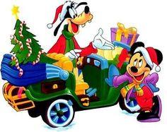 Christmas - Disney - Mickey Mouse & Goofy