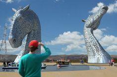 The Kelpies: Falkirk Scotland