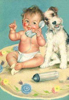 Charlotte Becker - hello baby dog (800×1161)