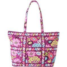 36aa77b90a  88.00 Vera Bradley Tic Tac Tote (Flutterby) Tote Handbags Vera Bradley  Disney
