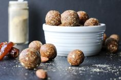 These grain-free gingerbread energy balls are spicy, sweet, and perfect for a busy day! Ready in 10 minutes and great to bring to holiday parties!