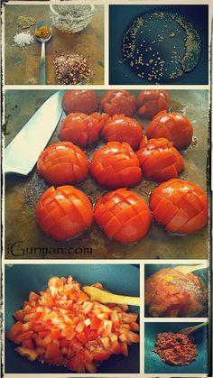 Tomato Thokku - Paradajková omáčka je vynikajúce dochucovadlo (čatní, omáčka alebo tak nejak, neviem ako to presne nazvať :-) Recept pochádza z južnej Indie.