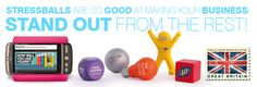 Stand out with promotional stressballs!