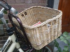 reed bike basket