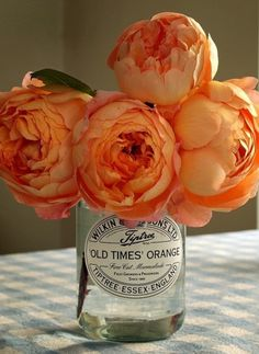 English tea roses in bloom all year round. A good alternative to Peonies that only bloom once a year.