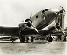 The planes of this era were so beautiful! Douglas, DC-1 by San Diego Air & Space Museum Archives, via Flickr