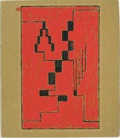 Erich Buchholz. Composition. 1920