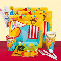 Fisher Price 1st Birthday Circus Party Pack