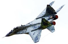 "A Slovak Air Force Mikoyan-Gurevich Mig-29S ""Fulcrum""."