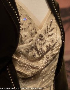 Closeup 2 from Lady Cora's gown