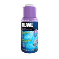 FLUVAL Clarificador BIO CLEAR120ml - #FaunAnimal Bio Clear Fluval contiene enzimas de acción rápida que de manera natural clarifican el agua turbia del acuario.