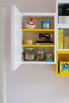 Kids room - Storing modules by Muurame - Varpunen