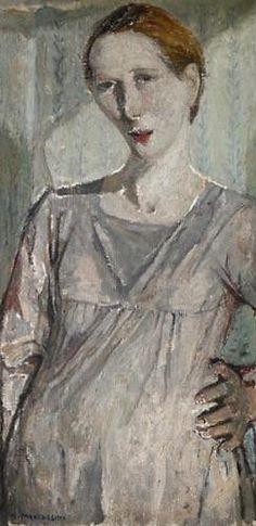 Nella MARCHESINI Self portrait (1930) #TuscanyAgriturismoGiratola