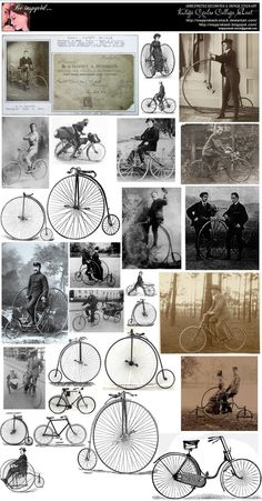 Vintage Cycles College Sheet