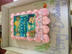 Bubble Guppies cupcake cake!
