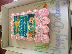 Bubble Guppies cupcake cake!