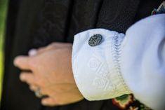 Vestfoldbunad Tranum Røer m/sølv, skjorte, veske og underskjørt | FINN.no