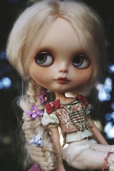 Rapunzel ~ (Metamorphosis - Art of Blythe) | Flickr - Photo Sharing!