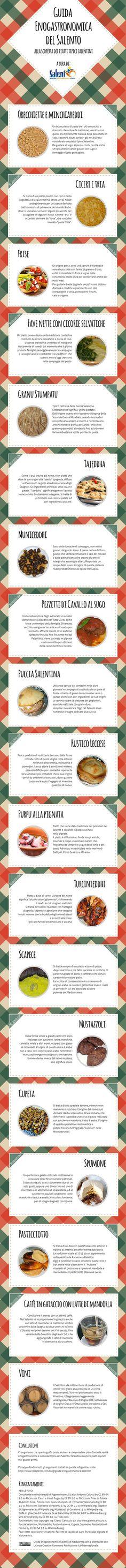 20 Ricette salentine da provare assolutamente  http://www.ledolciricette.it/2014/05/09/20-ricette-salentine-da-provare-assolutamente/15915