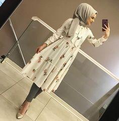 Hijab Fashion Summer, Modest Fashion Hijab, Modern Hijab Fashion, Casual Hijab Outfit, Hijab Fashion Inspiration, Hijab Chic, Fashion Outfits, Fashion Muslimah, Modern Abaya