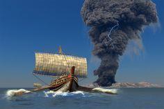 El supervolcán que destruyó Thera (Santorini, Grecia) - Arqueologia, Historia Antigua y Medieval - Terrae Antiqvae