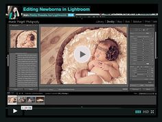 Free: Editing Newborns in Lightroom