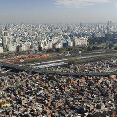 Diferenças claras de segregação urbana