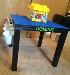 Customized Lego Table By SchaferandCo On Etsy