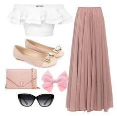"""Untitled #111"" by lianna2-1 ❤ liked on Polyvore featuring Alexander McQueen, Lara Khoury, Monsoon, Tory Burch and Elizabeth and James"