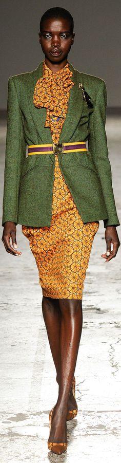Stella Jean Fall 2014 Ready-to-Wear