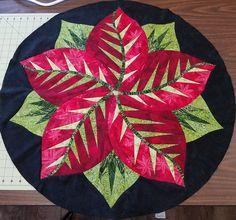 Poinsettia, Quiltworx.com, Made by Celeste Akre