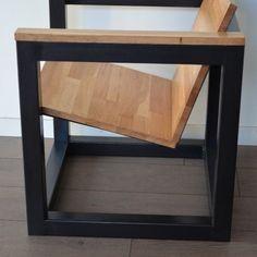fauteuil-moderne-bois-metal