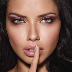 Adriana Lima Maybelline blushed nudes