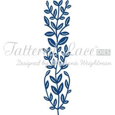 Tattered Lace Lily Leaf Border Die