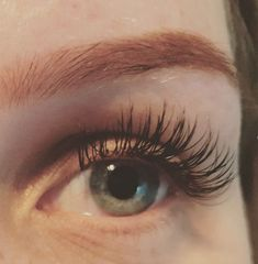 Wimperextensions One by One #flatlashes #onebyone #lovelashes