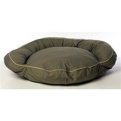 Carolina Pet Co. Classic Twill Bolster Bed