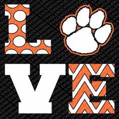 School Spirit Wear, School Spirit Shirts, School Shirts, Paws Shirt, Tiger Shirt, Clemson Football, Clemson Tigers, Auburn Tigers, Lsu