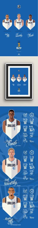 #NBA #players #MAVS #Dallas #vector face Big Men Big 3 #playoffs sport basketball illustration #Ellis #Nowitsky #Rondo