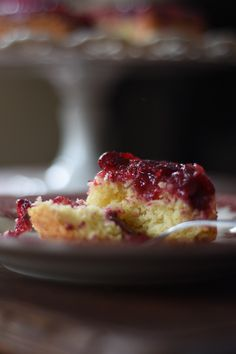 Cranberry Orange Coffee Cake - the Homestead at Bridle Creek