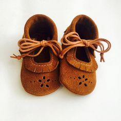 Handmade Suede Baby Shoes | AMuseLeatherCo on Etsy
