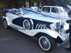 What a beautiful looking car- Fell in Love!  All Kent Wedding Car Services