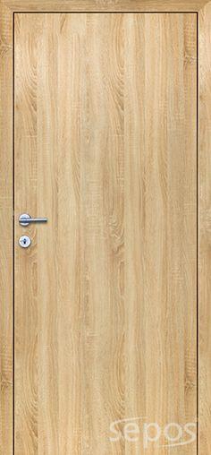 Interiérové bezfalcové dveře - bezpolodrážkové | SEPOS