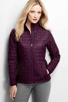 Women's Packable Primaloft Jacket from Lands' End