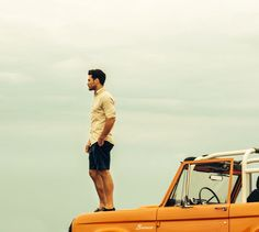 A man and his Bronco